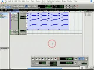 98 Editing MIDI Note Data