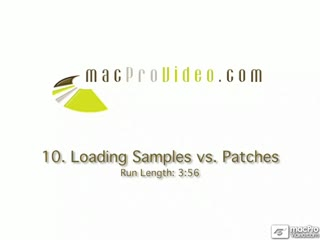 10. Loading Samples Vs. Patches