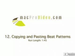 12. Copying And Pasting Patterns