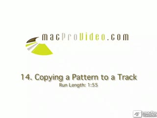 14. Copying Patterns To Tracks