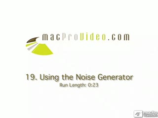 19. Using The Noise Generator