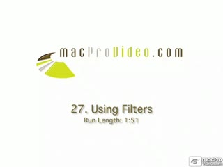 27. Using Filters