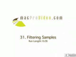 31. Filtering Samples