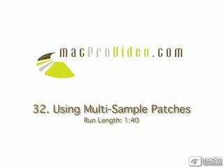 32. Multi-Sample Patches