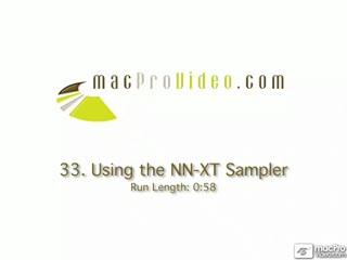 33. Using The NN-XT Sampler