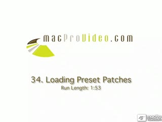 34. Loading Preset Patches
