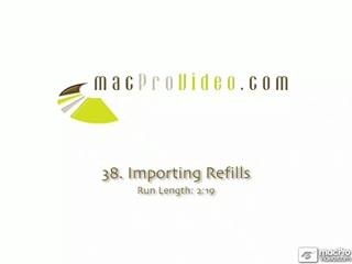 38. Importing Refills?