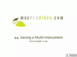 44. Saving a Multi-Instrument