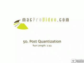 50. Post Quantization