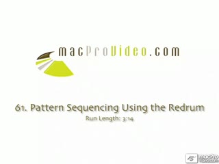 61. Pattern Sequencing Using The Redrum