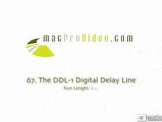 67. The DDL-1 Digital Delay Line