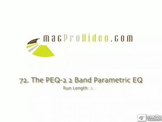 72. The PEQ-2 2 Band Parametric EQ