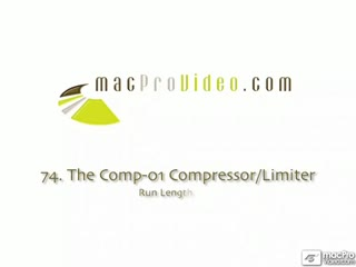 74. The Comp-01 Compressor/Limiter