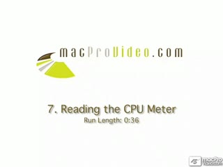 07. Reading The CPU Meter