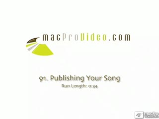 91. Publishing Your Song