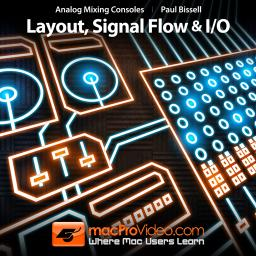 Analog Mixing Consoles Layout, Signal Flow and I/O Product Image