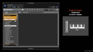 23. Adding CC#11 Control to Kontakt