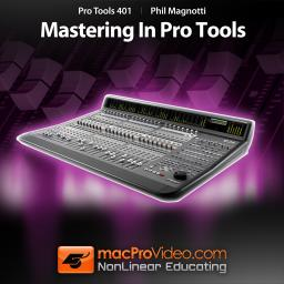 Pro Tools 401 Mastering In Pro Tools Product Image
