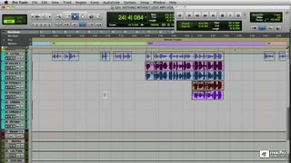 10. Making a Vocal background Bus