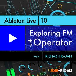 Ableton Live 302 Exploring FM with Operator Product Image