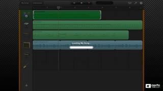 27. Exporting to GarageBand for the Mac