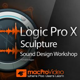 Logic Pro X 204Sculpture Sound Design Workshop Product Image