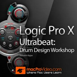 Logic Pro X 209 Ultrabeat - Drum Design Workshop Product Image