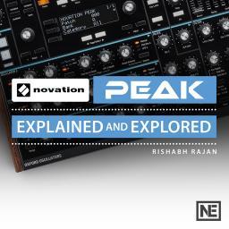Novation Peak 101Explained and Explored Product Image