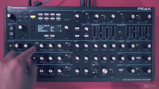 Novation Peak 101: Explained and Explored - Preview Video