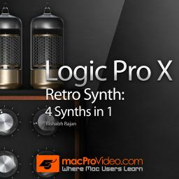 Logic Pro X 203Retro Synth: 4 Synths in 1 Product Image