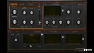 Logic Pro X 203: Retro Synth: 4 Synths in 1 - Preview Video