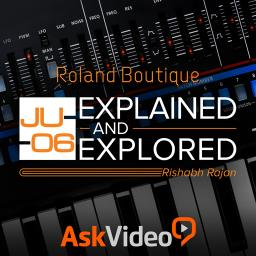 Roland Boutique 101 JU-06 Explained and Explored Product Image