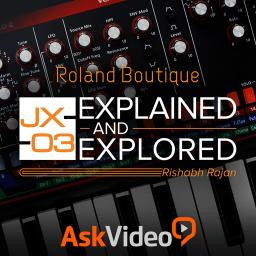 Roland Boutique 102 JX-03 Explained and Explored Product Image