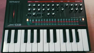 Roland Boutique 102: JX-03 Explained and Explored - Preview Video