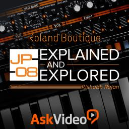 Roland Boutique 103 JP-08 Explained and Explored Product Image