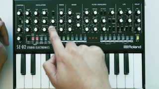 7. Oscillator 3 Key tracking