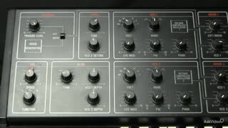10. The Oscillator modulated by LFO