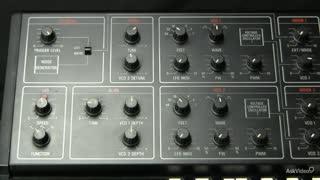 10. The Oscillator modulated by LFO