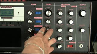 11. Serial Resonance on the Moog Voyager