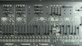 16. Envelope applied to the Filter on the ARP 2600