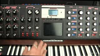 20. Filter Modulation on the Moog Voyager - Part 2