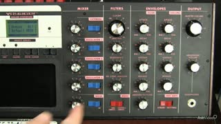 5. The Filter Cutoff Frequency on a Moog Voyager
