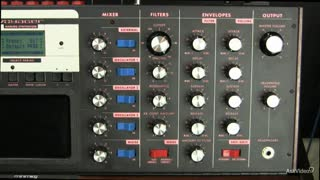 9. Filter Resonance on the Moog Voyager
