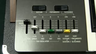 12. The Sustain Control on the CS-50