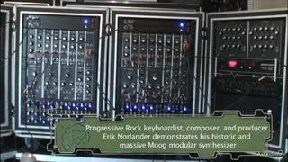 14. Erik Norlander's Moog modular