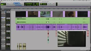 Pro Tools 12 302: Dialog Editing For Film & TV - Preview Video