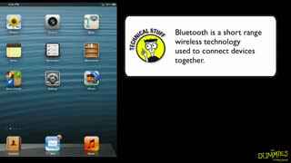 17. Connecting a Bluetooth Device