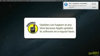 4. Updating OS X