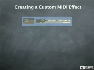 45. Creating a Custom MIDI Effect