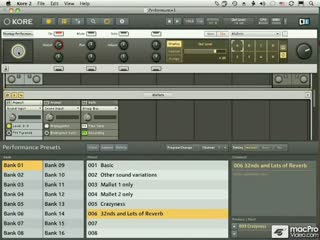 57. Organizing and Selecting Presets